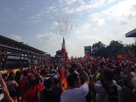 Autodromo Nazionale Monza: formula 1 ceremony