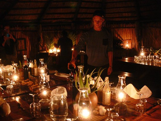 Umlani Bushcamp: Dining room