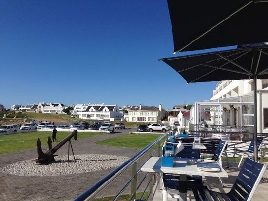 Arniston Spa Hotel: view from the deck