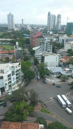 سينامون ريد كولومبو: room view at 17th floor