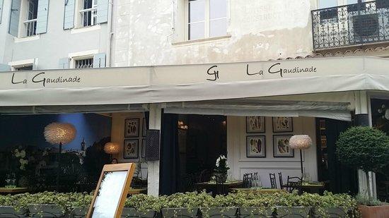 La Gaudinade : Nice terrace