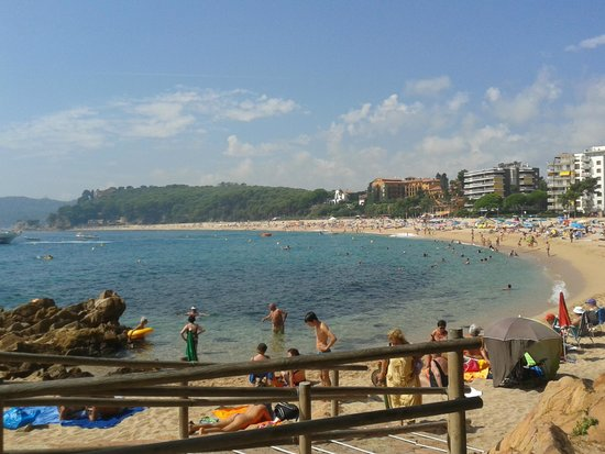 Playa de Fenals: fenals beach