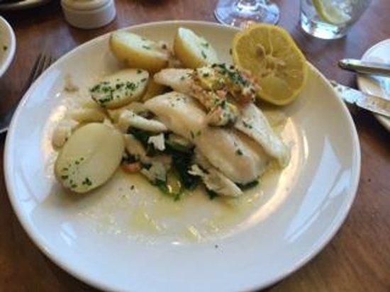 Coast Bar and Brasserie: Lemon Sole Fillets