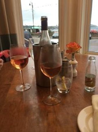 Coast Bar and Brasserie : Bay Window Table