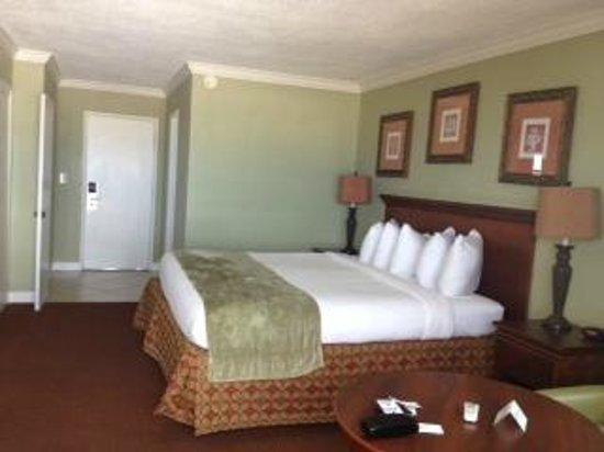 Thunderbird Beach Resort: Bedroom from balcony