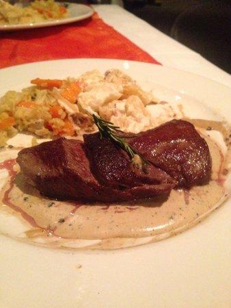Top of the Ritz: Kudu fillet