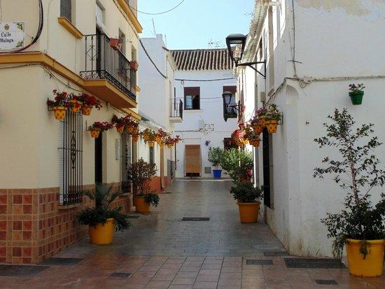 Centro histórico de Estepona: Calle Malaga w Esteponie