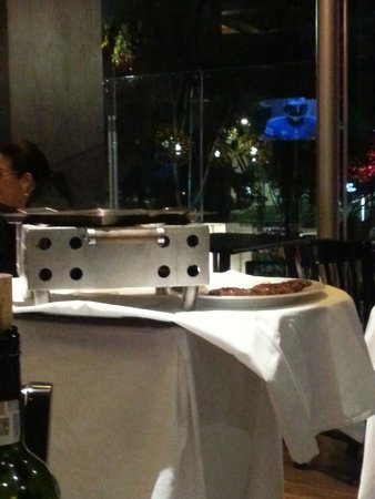 Mexico City Marriott Reforma Hotel: Table-side cooking - fun to watch