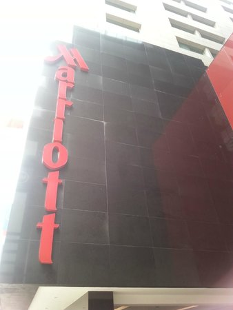 """Mexico City Marriott Reforma Hotel: The Sign that meant """"home"""" for one week"""