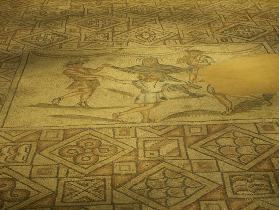 Domus dei Tappeti di Pietra : The Dance of the Four Seasons.