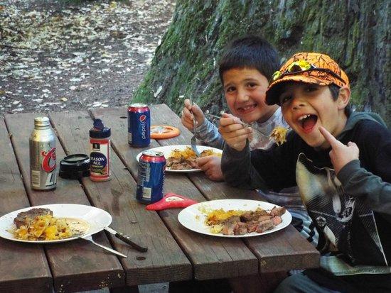 "Redwoods River Resort & Campground: ""Best dinner ever"""