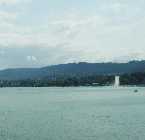 Seebad Enge: Озеро фонтан