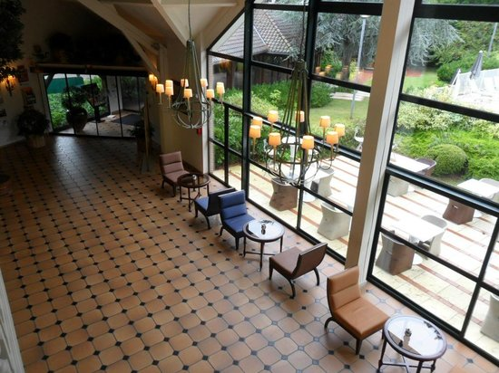 Hôtel du Parc : Réception