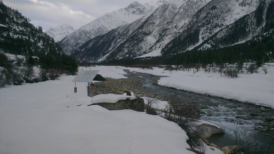 Rakcham : Valley River view