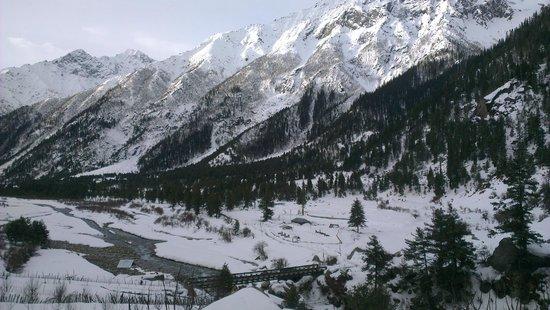 Rakcham : Mountains view