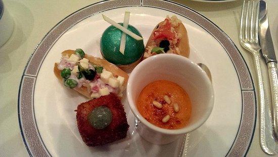 Palm Court at The Langham: Bijoux Sandwiches