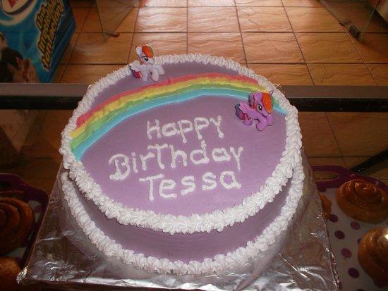 Panaderia & Heladeria Princesa Bakery & Ice Cream Parlor: My Little Pony Cake