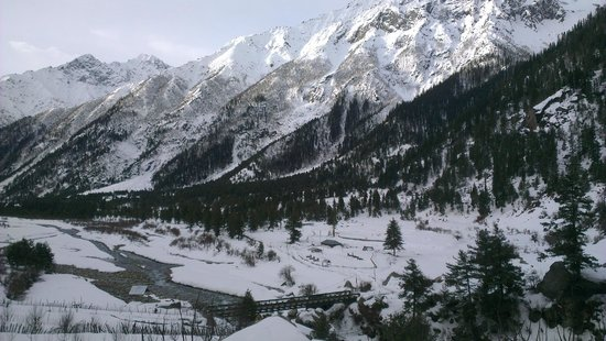Hotel Rupin River View: View from Hotel room.. awesome
