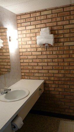 Budget Host Inn Manistique : Bathroom