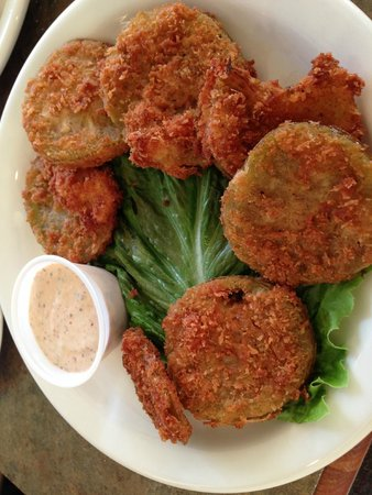 Sunset Coastal Grill: Fried Green Tomatoes