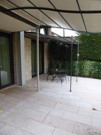 Ca' dell'Orto : Terrasse vor unserem Apartment
