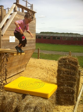 Thurleigh Farm Centre: Walking the plank on pirate week