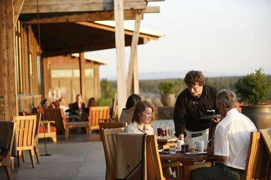 Range Restaurant and Bar: In the summer months, you may choose to dine on one of the many expansive decks.