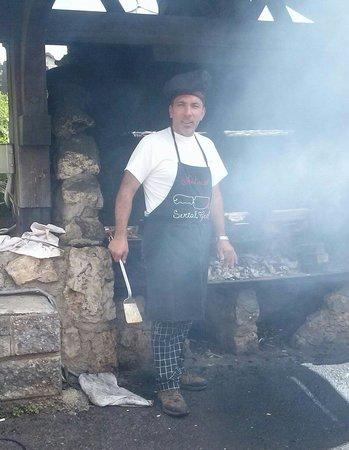 Wellness Hotel Fontana: Antonio il master chef dell'Hotel Fontana
