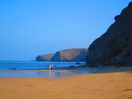 Watergate Bay Hotel: Right on the beach