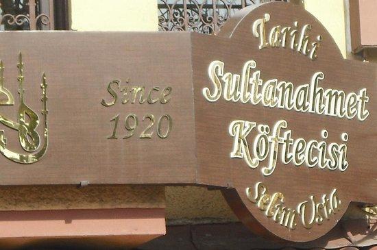 Sultanahmet Koftecisi: 90+ years of Kofte!