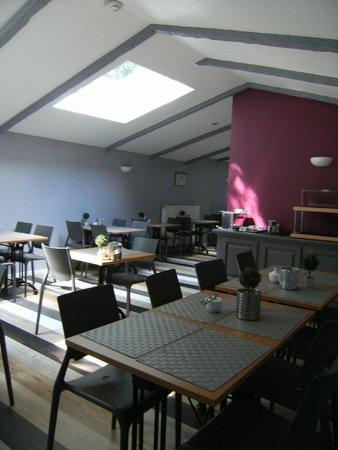Mandarina Hotel : salle de dejeuner