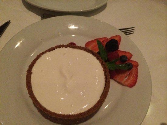 Ruth's Chris Steak House: Cheesecake