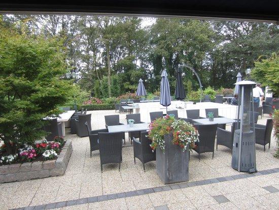 Auberge De Papenberg: tuin