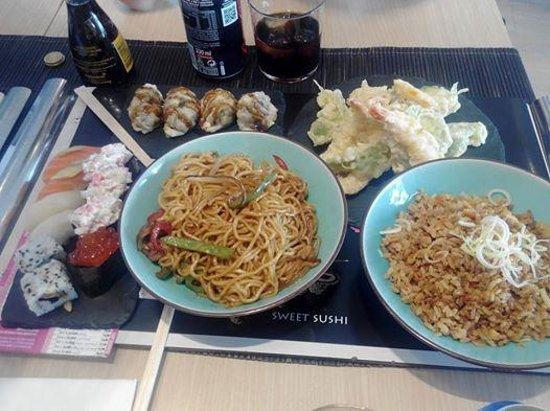 Sushi Store: Lo que comimos