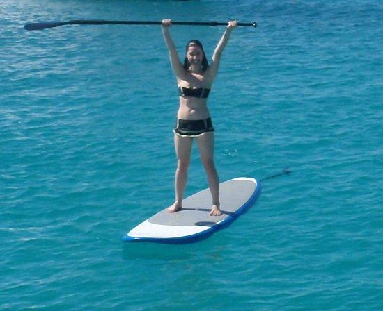 Zatoka Simpson, Sint Maarten: Stand Up Paddle Board