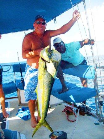 Simpson Bay, St. Martin/St. Maarten: A bit of fishing