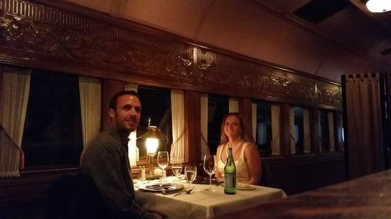 DiSalvos Station: inside the train car