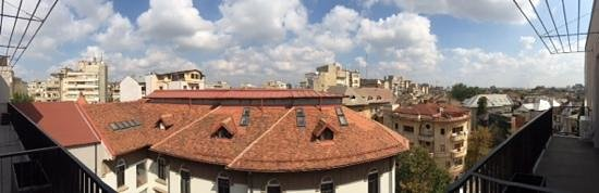 Hemingway Residence Hotel: view from the balcony