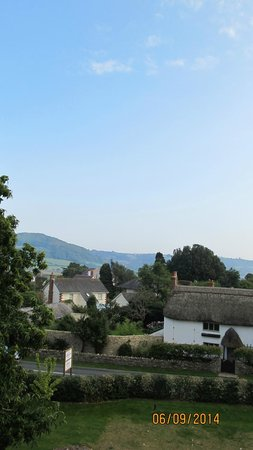 Colyford, UK: View from room