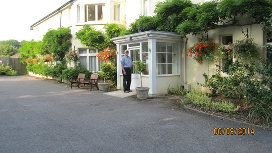 Colyford, UK: Arriving at hotel