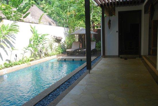 The Banjaran Hotsprings Retreat : Garden Villa view