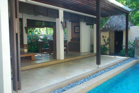 The Banjaran Hotsprings Retreat : Living - Garden Villa