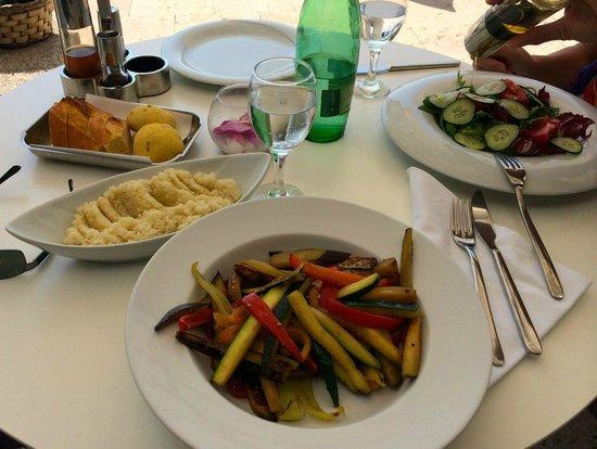 Hotel Life: Grilled vegetables