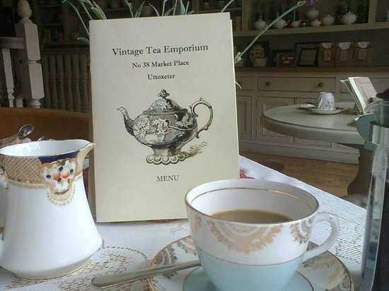 The Vintage Tea Emporium: Menu