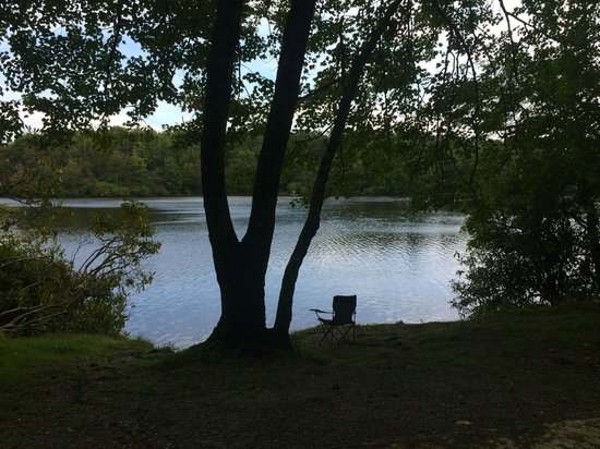 Julian Price Park Campground : Price Lake from Site A10