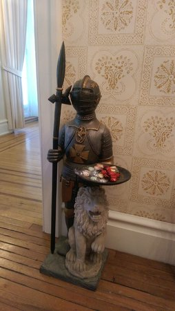 The Castle Bed and Breakfast: my kind of candy dish
