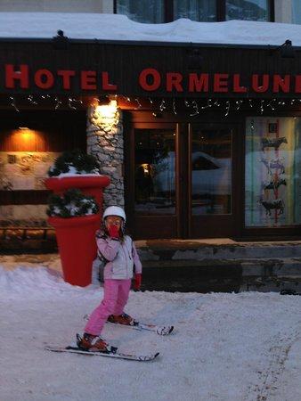 Hotel Ormelune : entree