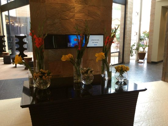 Tribe Hotel: zero floor/ restaurant entrance