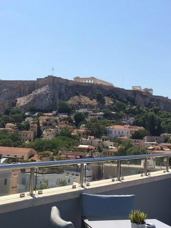 Central Hotel Athens: Great View