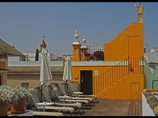 Las Casas de la Juderia: ROOFTOP RELAXATION (BY THE POOL)